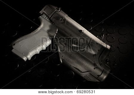 Triple Retention Holster