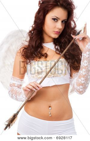 Attractive Female Cupid