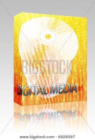 Movies Digital Media Box Package