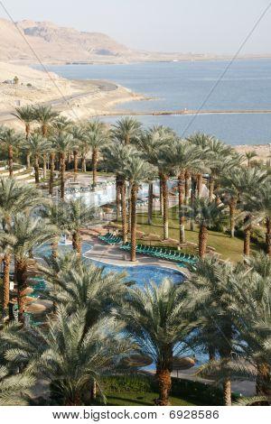 View inside of hotel in Dead Sea