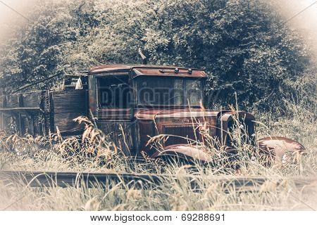 Abandoned Rusty Oldtimer