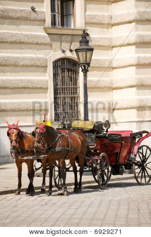 Horsedrawn carriage