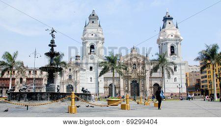 Plaza de Armas Lima