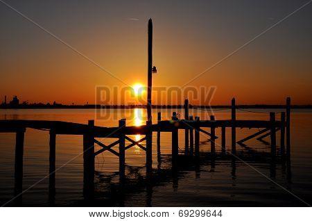 Sunset at Jourdan Point