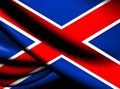 stock photo of zar  - Flag of Potchefstroom - JPG