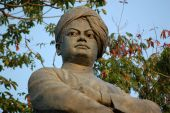 stock photo of swami  - Statue of Swami Vivekananda  - JPG