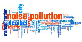 stock photo of noise pollution  - Noise pollution  - JPG