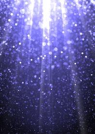 image of glitter sparkle  - Blue sparkling underwater background - JPG