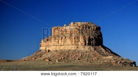 Fajada Butte in Chaco Canyon