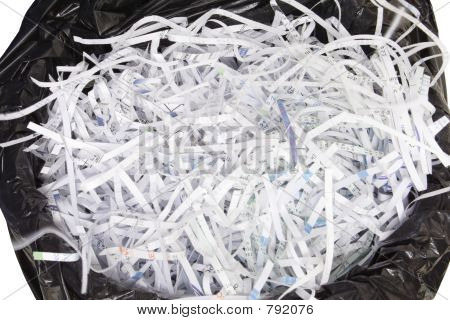 Shredded and Disposed