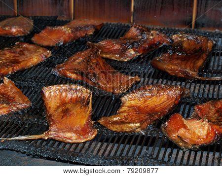 Traditional Fish Smoking