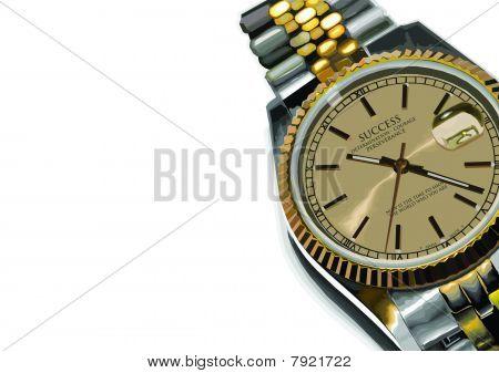 Rolex Success Gold Watch