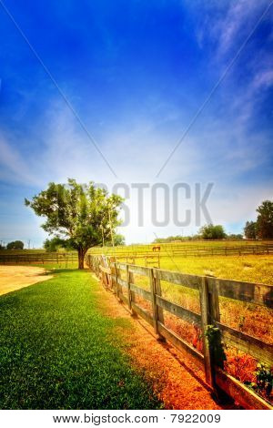 Dramatic Country Scenery