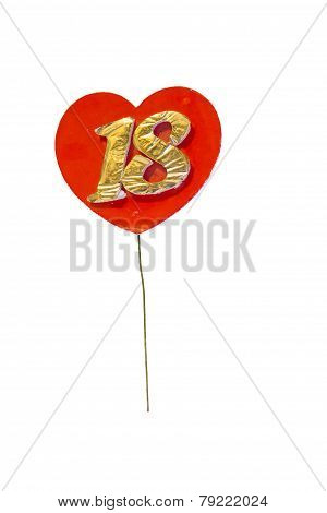 Eighteen's lolipop