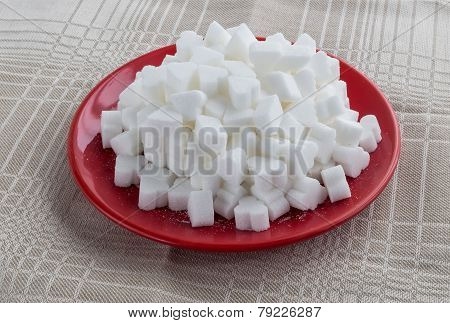 Figured White Refined Sugar