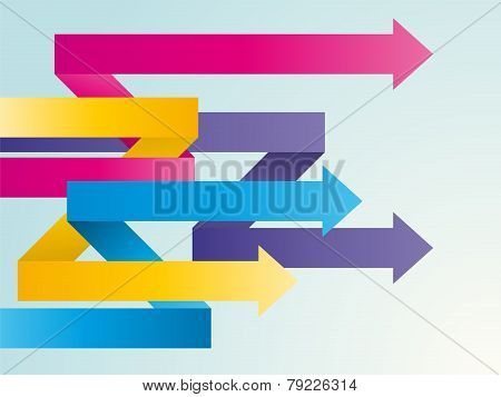 Color Intertwined Arrows