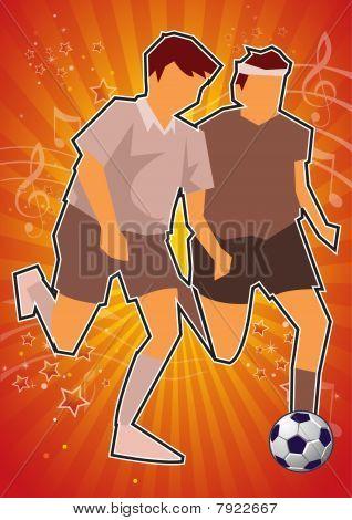 Sports Music Celebration Illustration