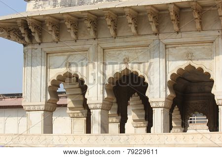 Agra Fort doorway detail