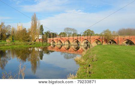 Historic fifteenth Century Packhorse bridge