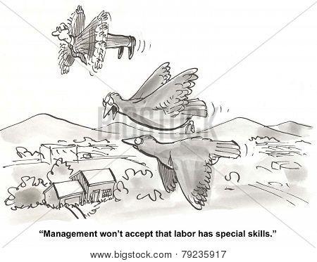 Unionized Labor