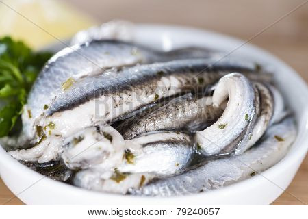 Portion Of Anchovis