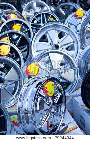 Many Alloy Wheels For Sale.