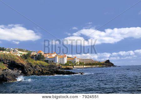 Madeira coastline Canico de Baixo