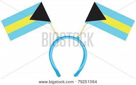 Headdress With Flags Bahamas