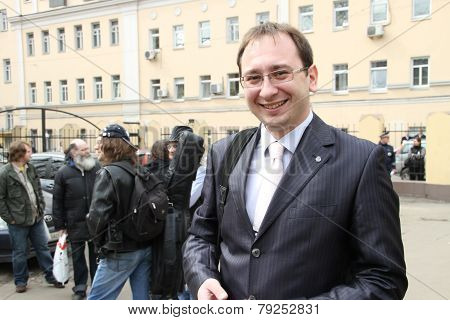 The Lawyer Of The Arrested Participants Of Pussy Riot Nikolay Polozov