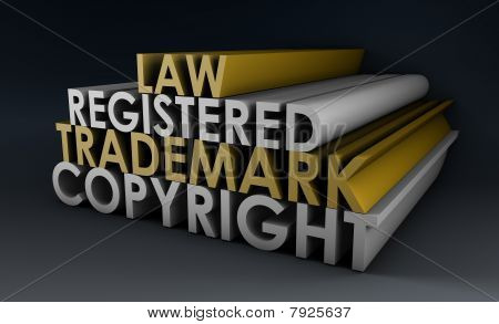 Registered And Copyright Trademark