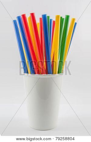 Multi Color Straws