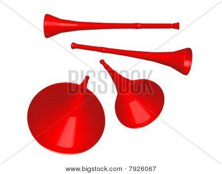 Vuvuzela Red