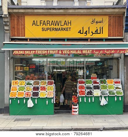 Ethnic Food Store