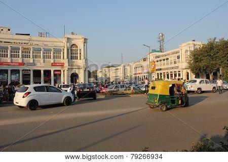 New Delhi City Centre Daily Life