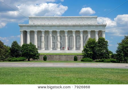 Lincoln Memorial em Washington, DC