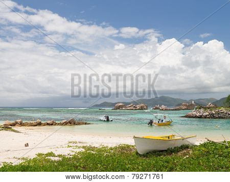 Boats On The Ocean