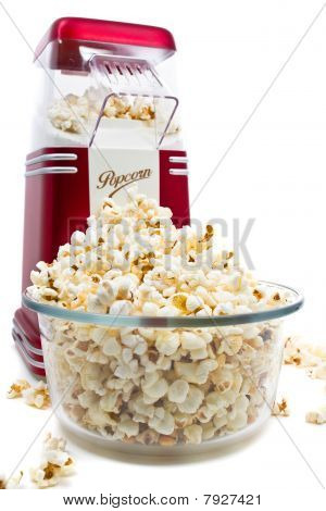Popcorn Maker And Popcorn