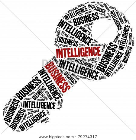 Business Intelligence Concept.