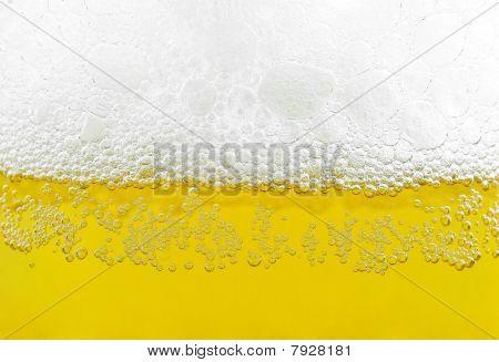 beer bubbles