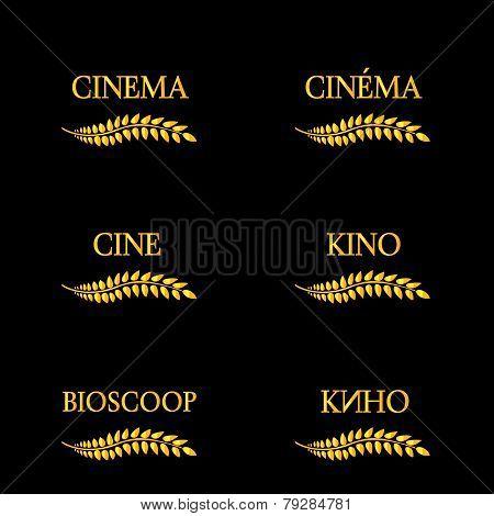 Cinema Laurels In Different Languages 4
