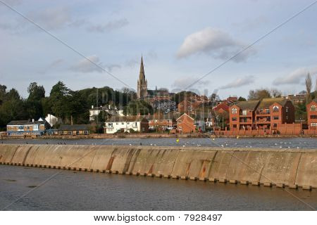 River Exe, Exeter