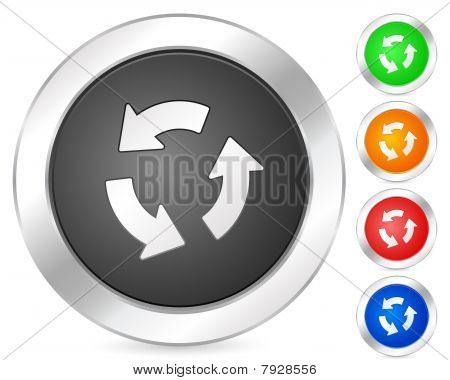 Computer Icon Recycle