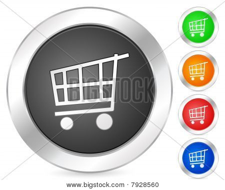 Computer Icon Shopping Cart