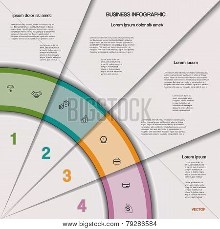 Infographic Business Process Or Workflow For Project And Other Your Variant.
