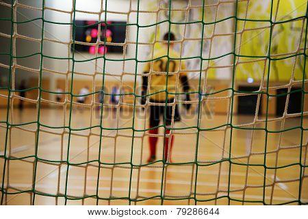 futsal goalkeeper