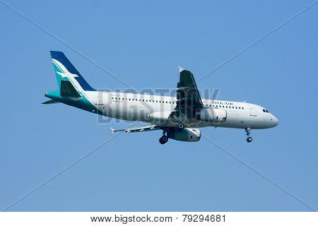 9V-SLE  Airbus A320-200 of Silkair