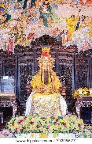 Buddha Statue Emperor Jade Pagoda, Thailand