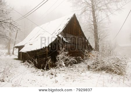 The Old Wooden Cottage