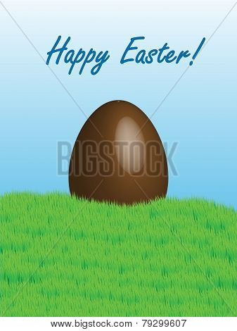 Easter Chocolate Egg Card 2