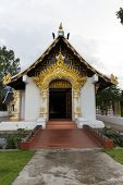 stock photo of dharma  - dharma center is tourist attraction at chiang mai  - JPG